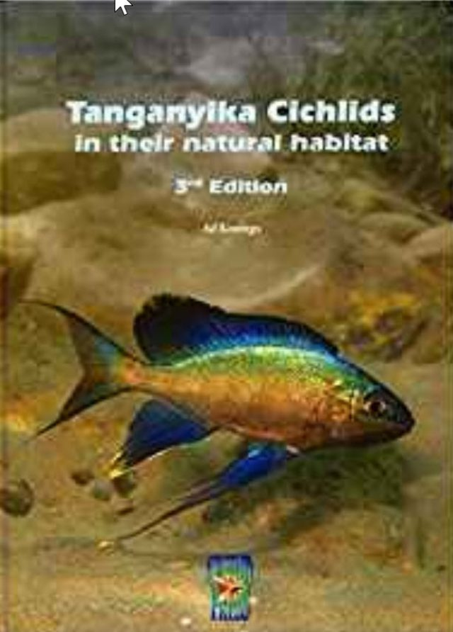 Konings, Ad – Tanganyika Cichlids in their Natural Habitat