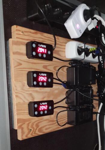 Lichtsteuerung über 3 sera LED Digital Dimmer